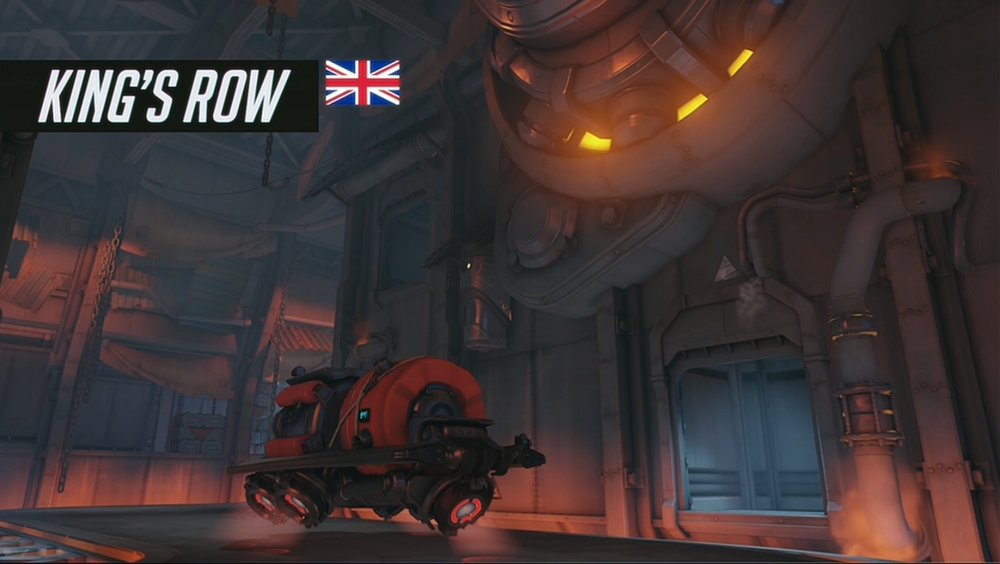 The payload in the factory at the end of the map
