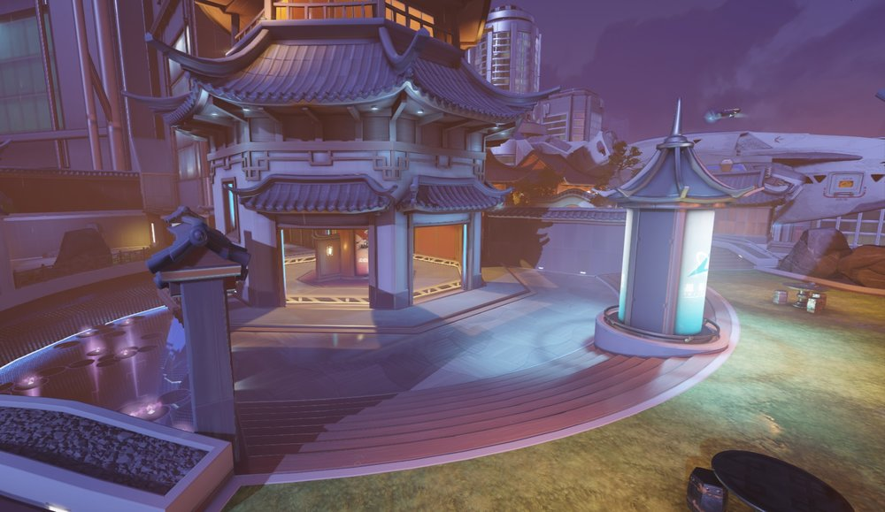 Lijiang Tower Garden point (appears inside building)
