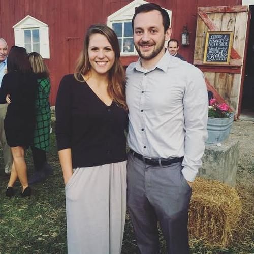 Ben Kieffer with his wife Shelby