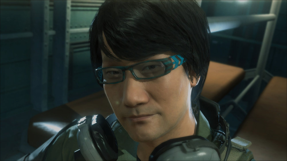 Hideo Kojima making a surprise cameo in his own game, Metal Gear Solid V: Ground Zeroes