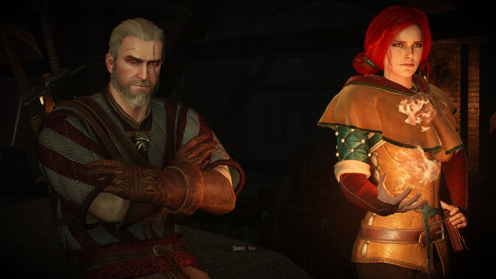 "Geralt may be the ""white wolf"", but his morals are strikingly gray."