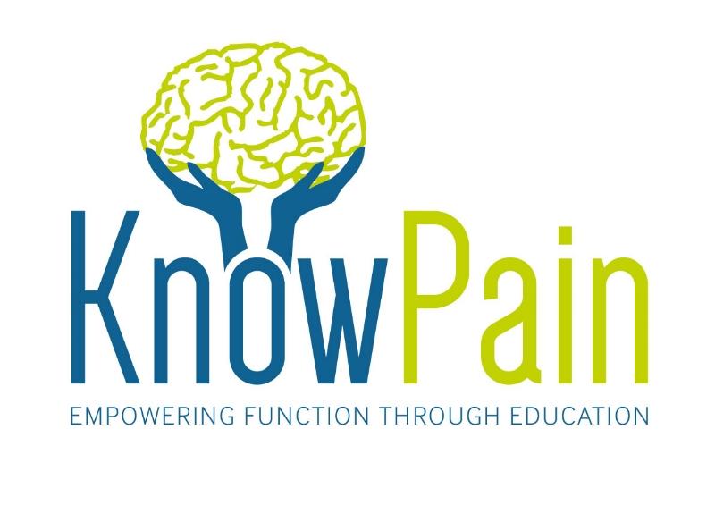 know pain logo
