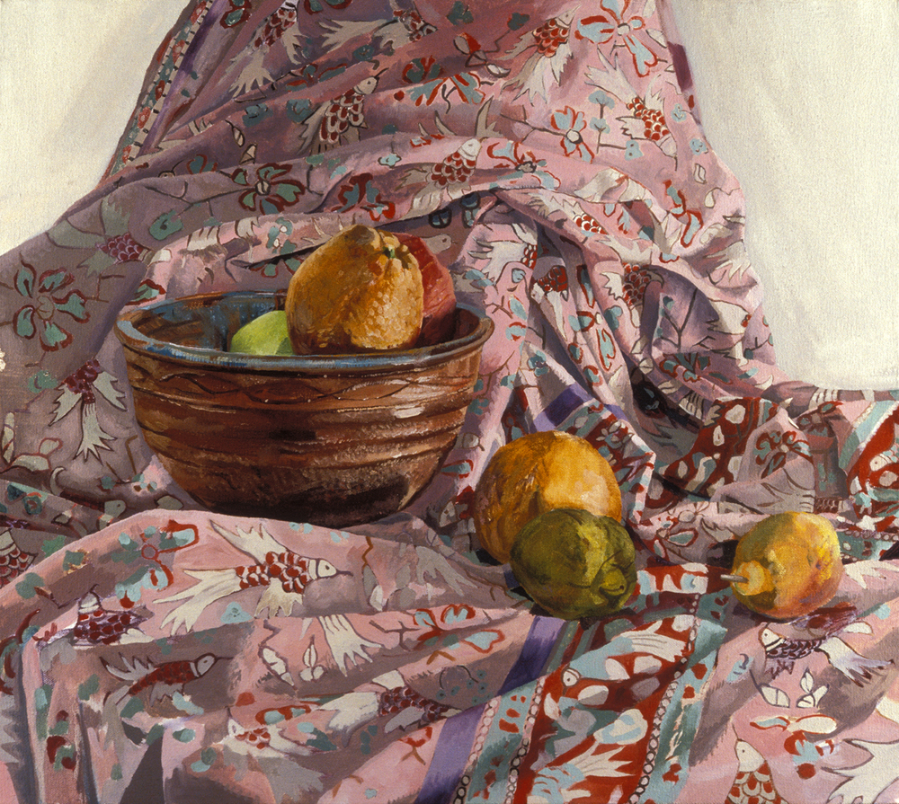 "Kinstedt Still Life ,   2003,  oil on canvas, 36"" x 36"""