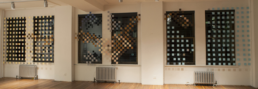 Abacus,    2012, Deborah Berke Partners, New York City,    paper and monofilament, curated by Deborah Berke