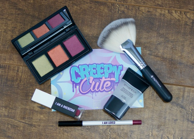 The March 'Creepy Cute' BoxyCharm contents.