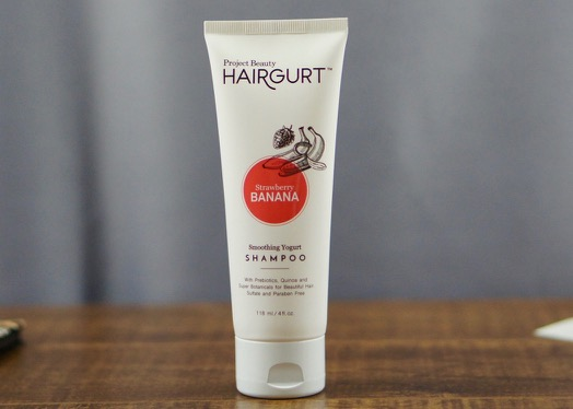 Hairgurt Smoothing Yogurt Shampoo from Porject Beauty.