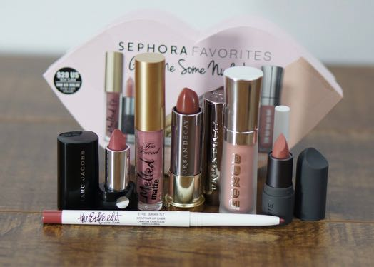 The first Sephora Favorites - Give Me Some Nude Lip lip kit.