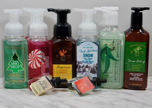 Got a great deal on B&BW Hand Soaps and Wallflowers!