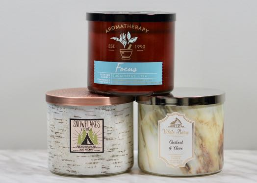 A few 3-wick candle from B&BW.