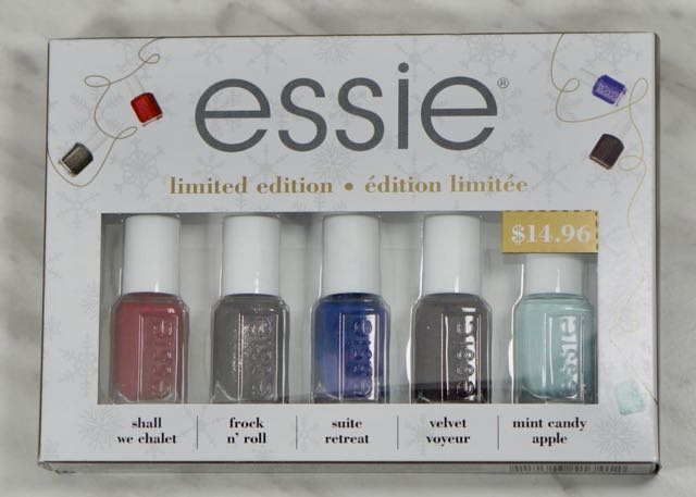 Essie Winter Limited Edition polish set on for $7.50 CAD!