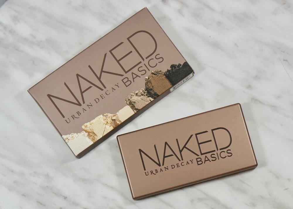 Pretty new Urban Decay Naked Basics.