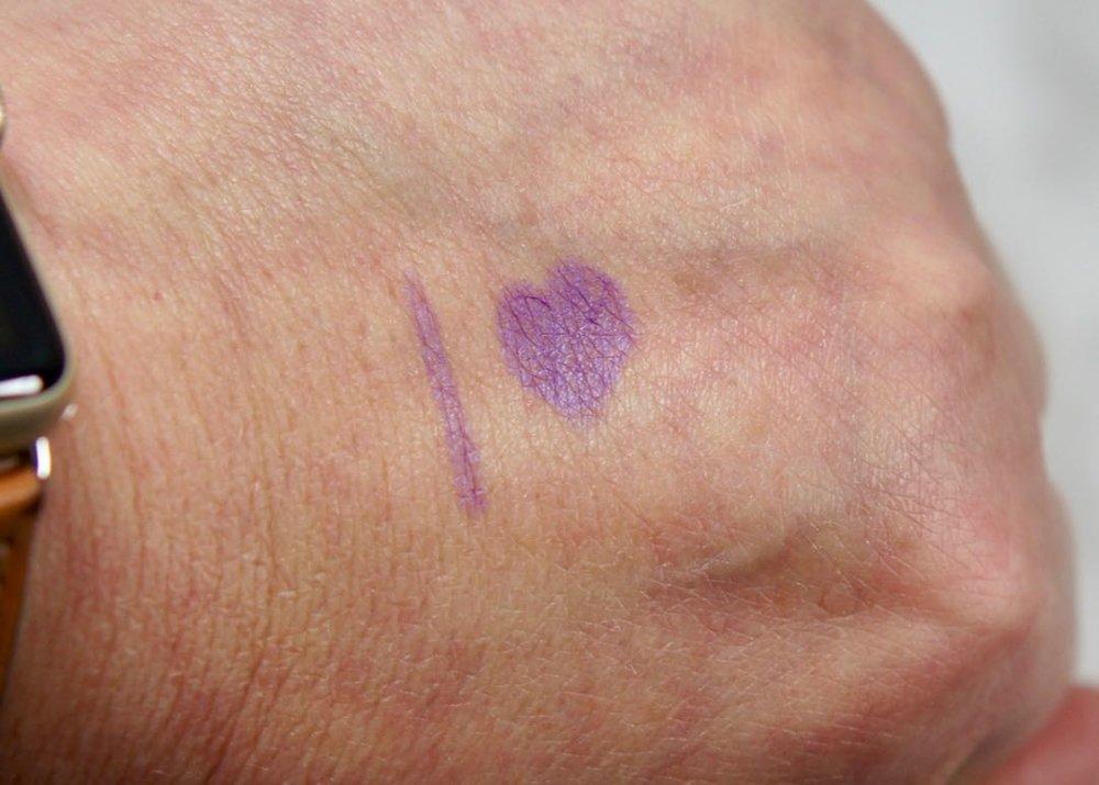 Glam Sense L'Oreal-Infallible Pro Last Liner-purple-swatchGlam Sense L'Oreal-Infallible Pro Last LinerGlam Sense L'OrealDSC05503.jpg