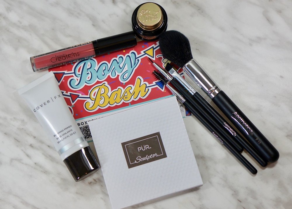 Boxy Charm seems to get the assortment of products just about right, something for most parts of a makeup routine!