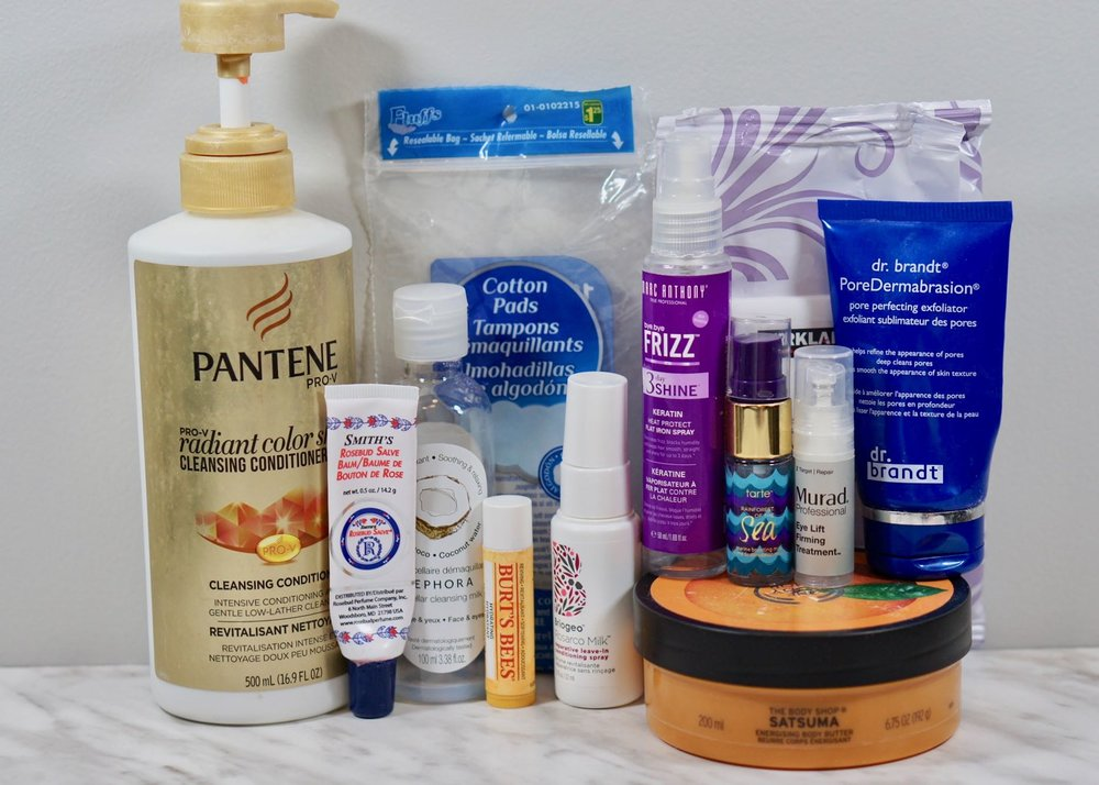 A few good products in the Hair and Skincare section.