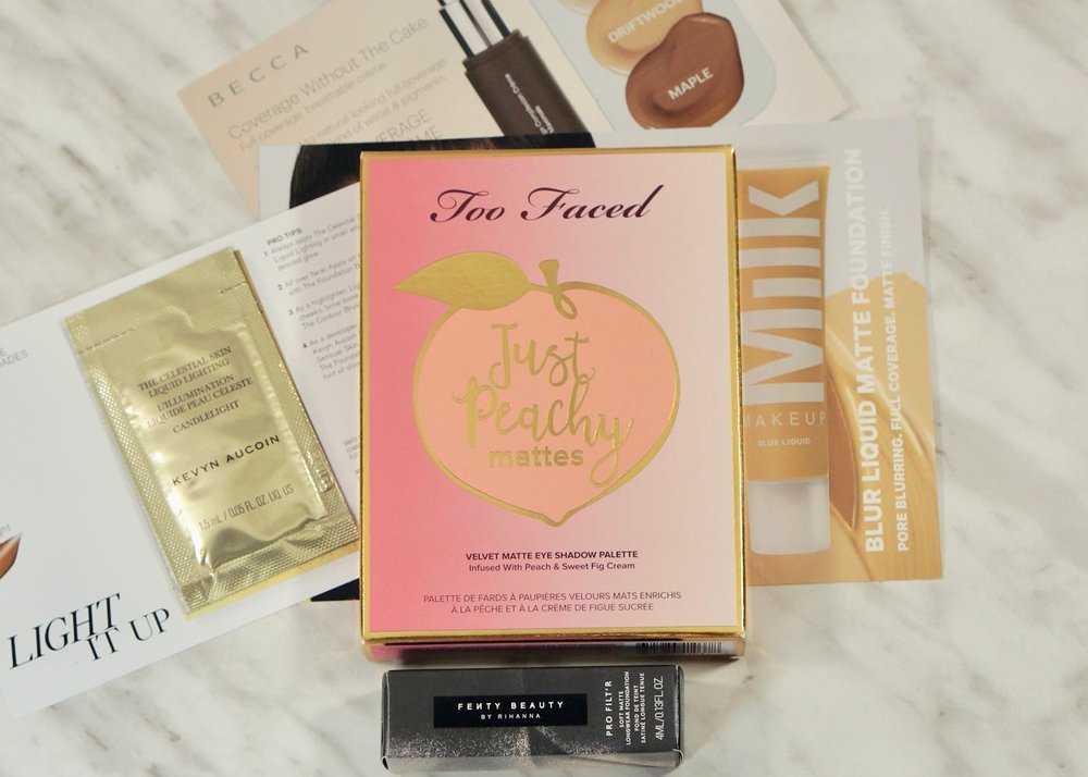 New In For July 2018-Too Faced-Peachy MatteNew In For July 2018DSC07495.jpg