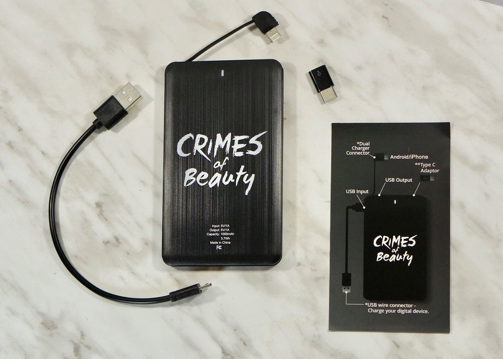 Boxy Charm-Luxe-December 2018-Crimes Of Beauty-Wristlet + Portable ChargerBoxy Charm-Luxe-December 2018DSC09842.jpg