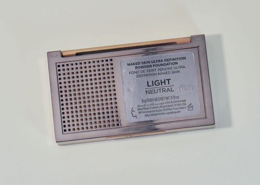 Urban Decay Naked Skin Ultra Definition Powder Foundation - Light NeutralDSC00616.jpg
