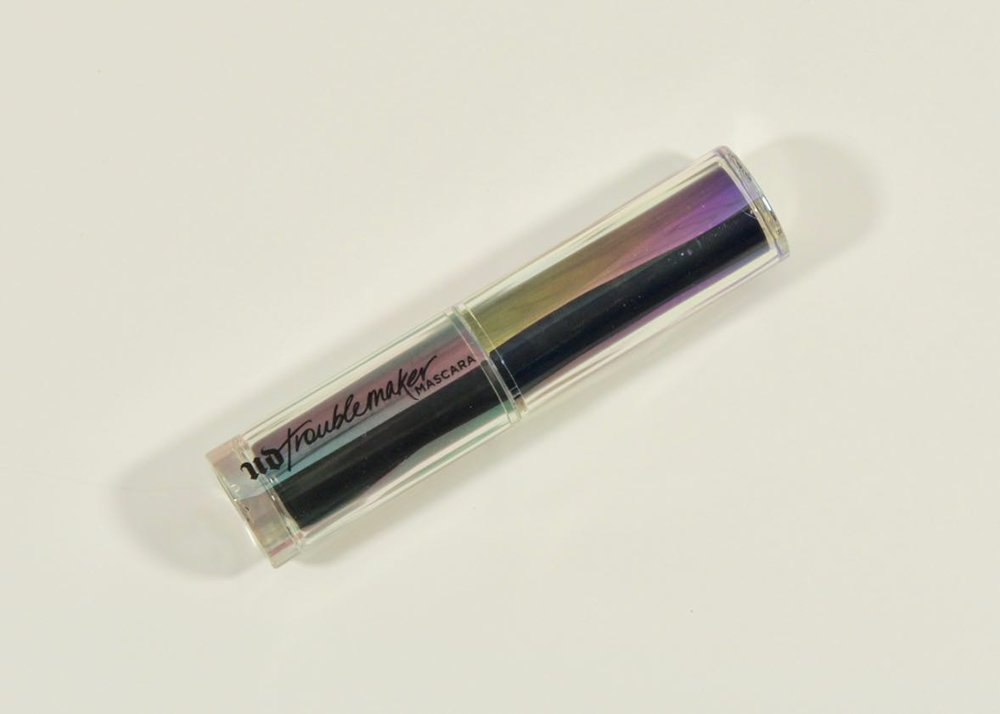 Beautiful packaging, even on the mini of the urban Decay Troublemaker Mascara.