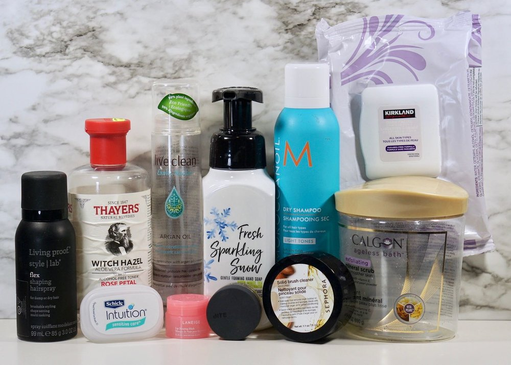 My hair and skin empties for March 2019.