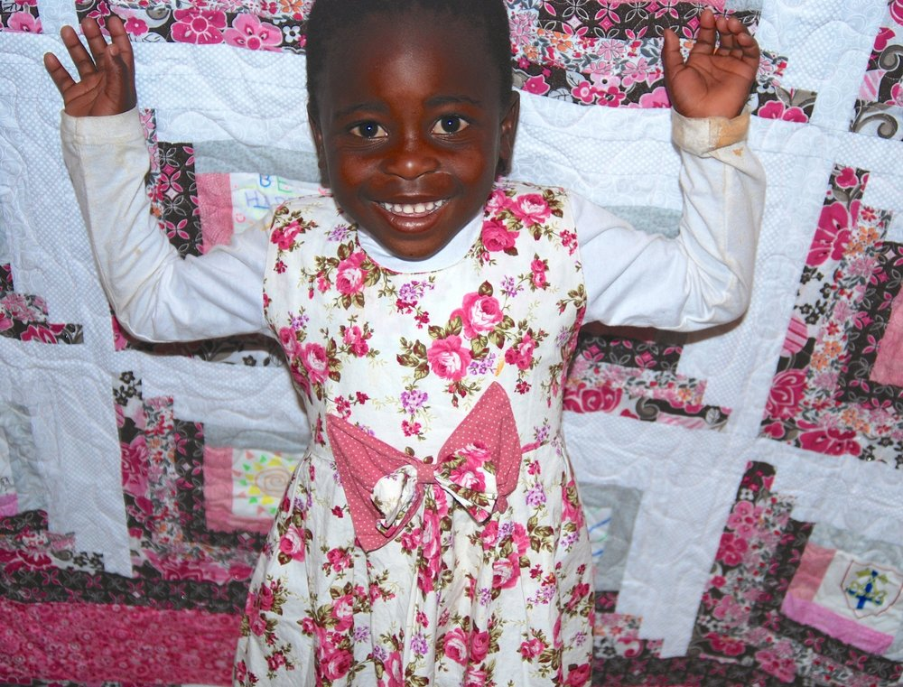 Love is the common thread - We build relationships between caring Americans and children in South Africa. American school children create messages of love to brighten lives and help heal souls of those touched by the HIV / AIDS pandemic. These beautiful art squares are stitched together by volunteer quilters into quilts that are distributed to children in South Africa's hardest hit communities. The Love Quilt Project teaches kindness, tolerance and compassion. Donations help enrich lives through educational opportunities. And all who participate learn that the healing power of love can change the world.