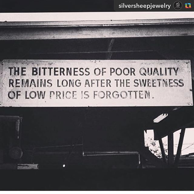 Word. ⚫️🔷 #repost from @silversheepjewelry ⬜️ #highquality #longlasting #handcrafted #handmade #ethical #ethicalfashion #sustainable #local #menswear #womenswear #denim #bespoke #customfit #workwearinspired #clintonparksf #madeinUSA #madeinSF
