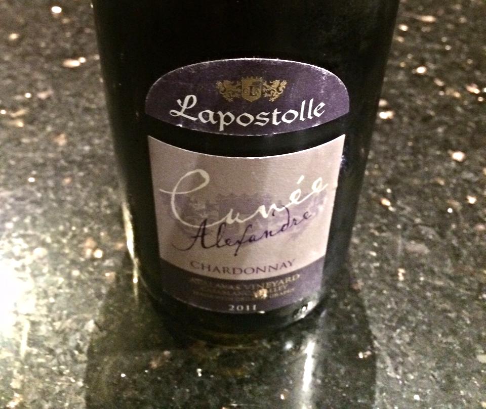 2011 Cuvée Alexandre Chardonnay