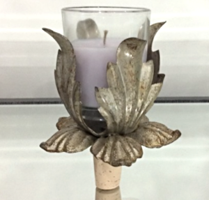 Tulip Candle Holder WineStopper