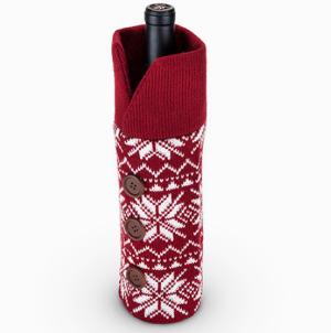 Holiday Bottle Wine Sweater