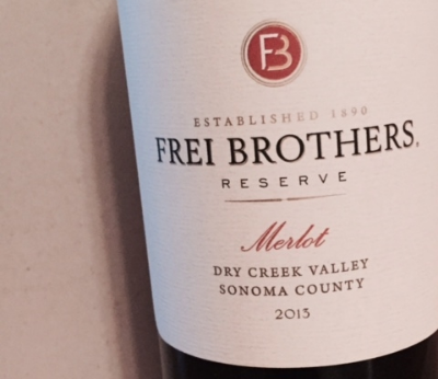 Frei Brothers Merlot