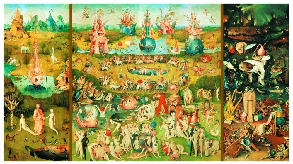 Garden of the Earthly Delights - Hieronymus Bosch