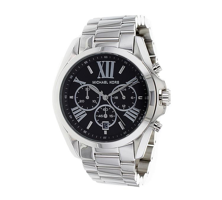 michael kors men bradshaw black dial chronograph bracelet watch m kors mk5705 jpg
