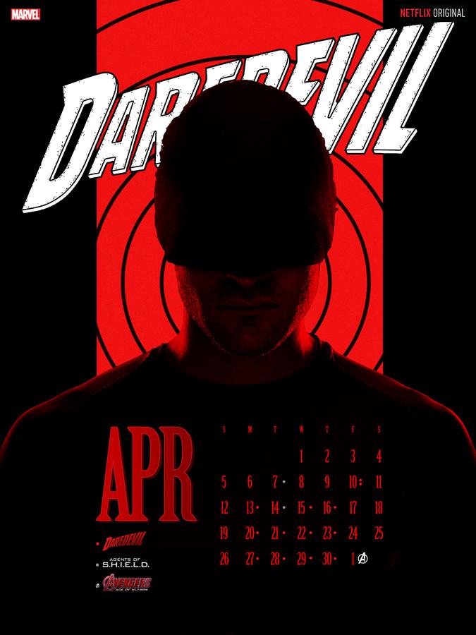 Daredevil Calendar