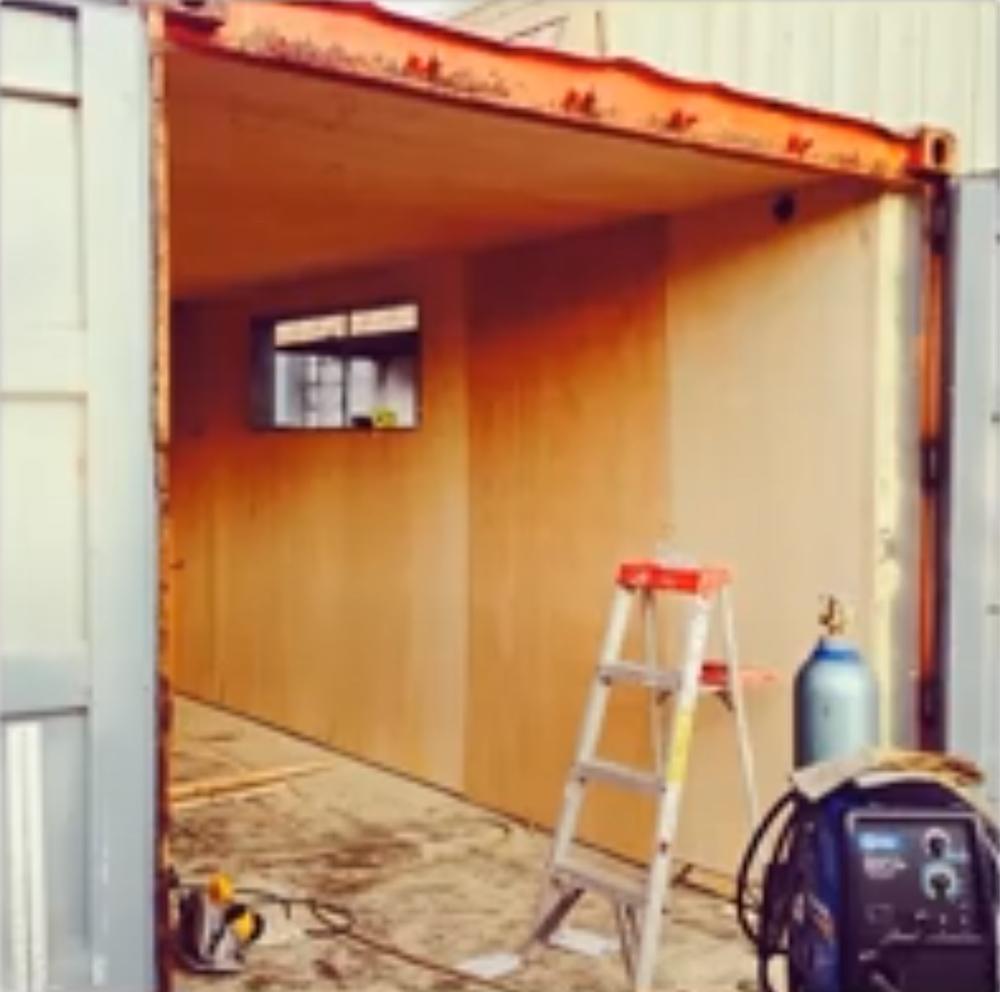 Beginning the buildout!