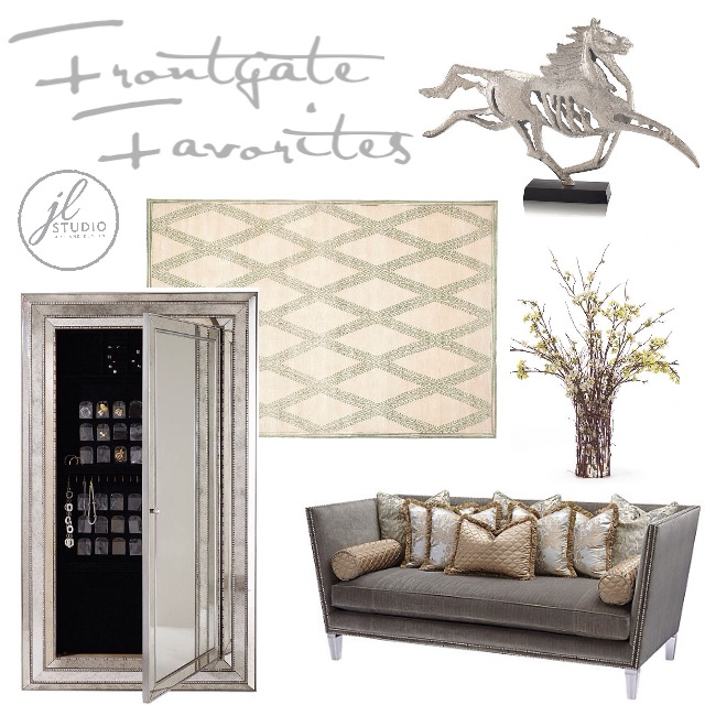 A few Frontgate Favorites selected by Interior Designer Jacquelyn Lindsey