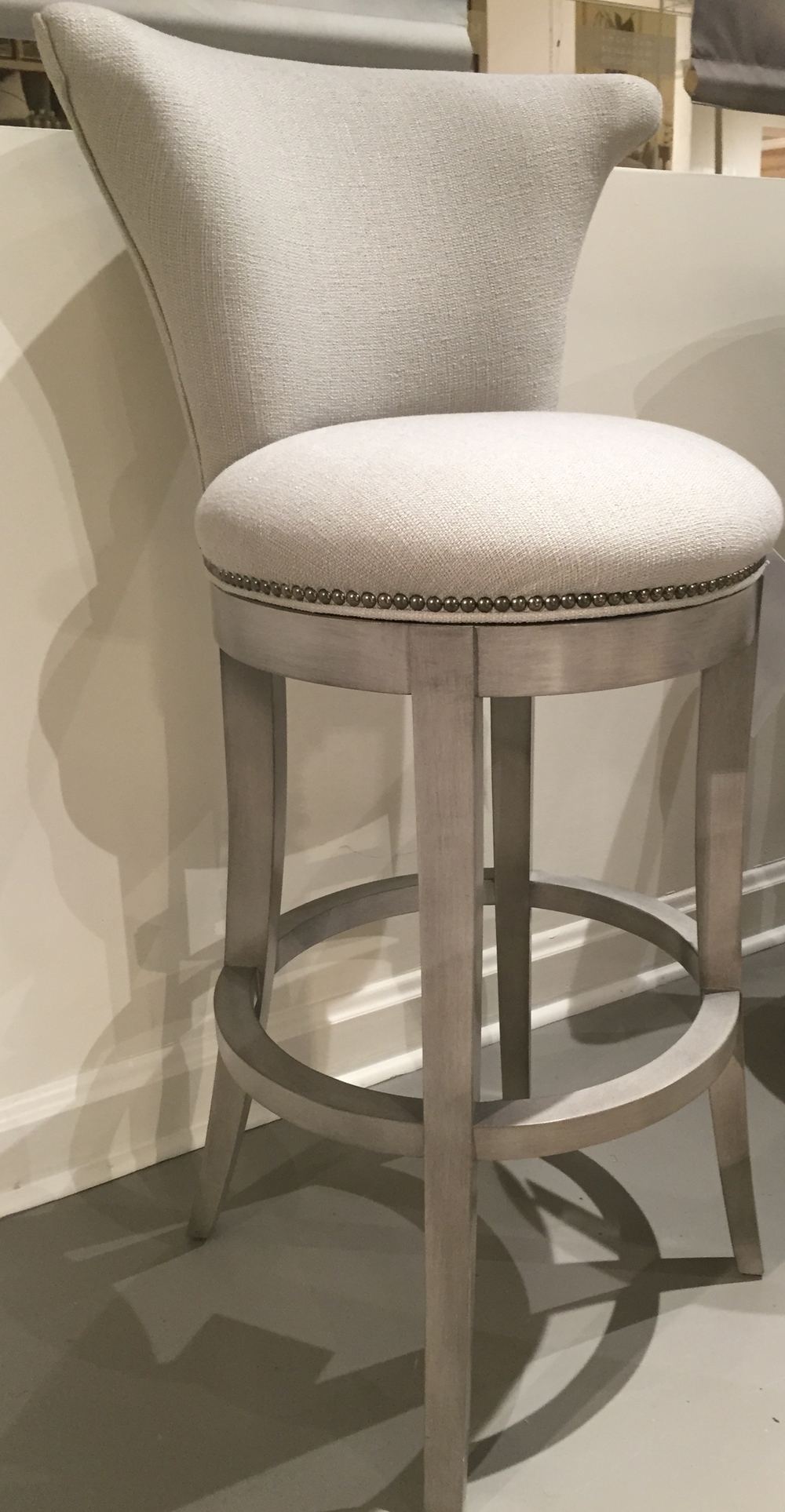 Gorgeous bar stool!