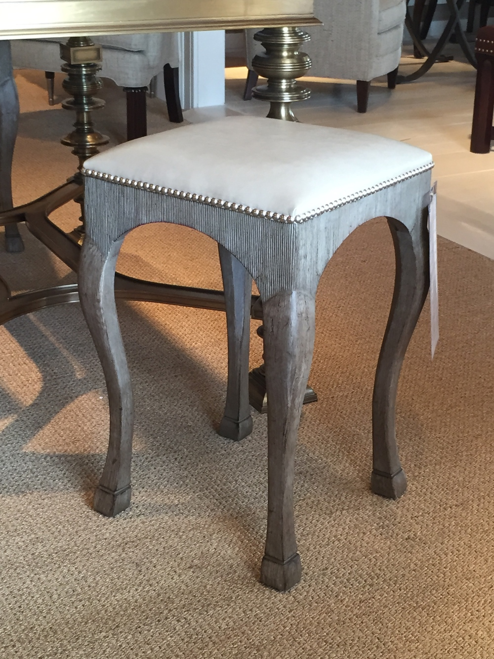 I absolutely adore this stool! The would be fantastic at a  kitchen bar or dining table!