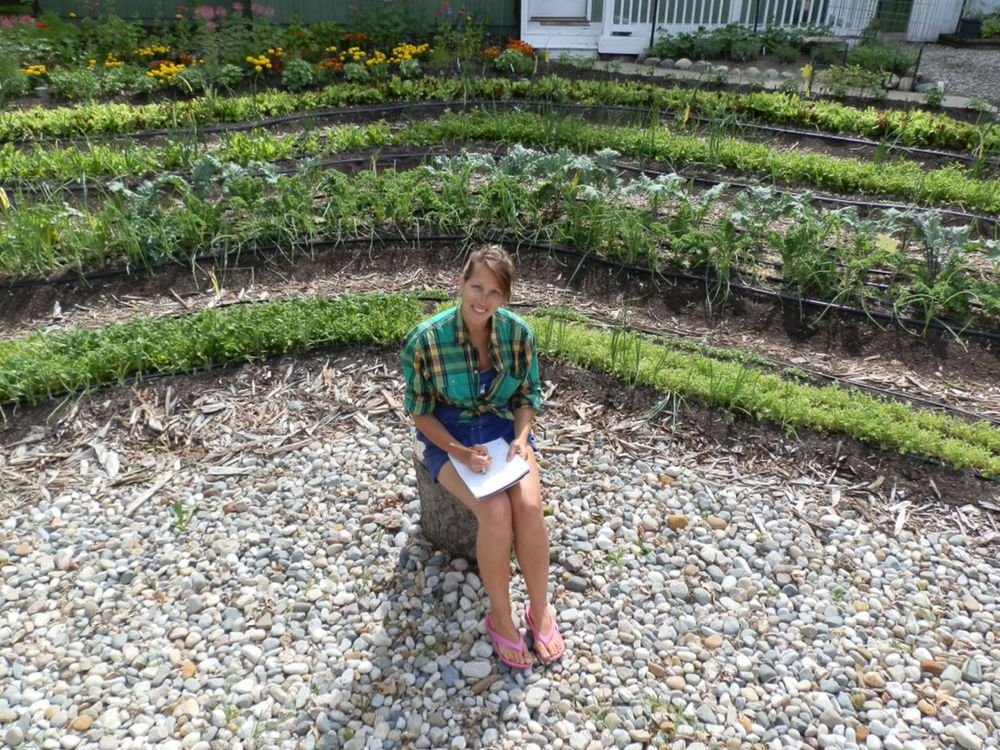 Erica taking notes