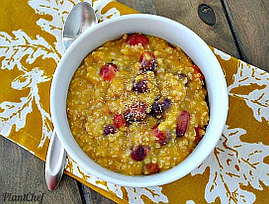 PBNSGRecipe CollectionPP: Cranberry-Pumpkin spiced Oats for a Crowd