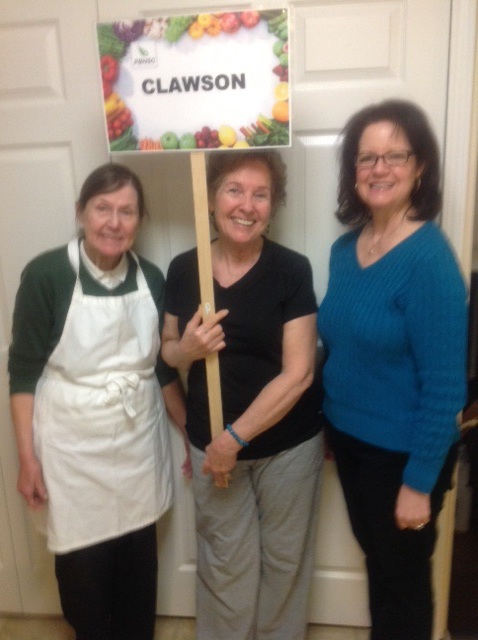 Chef Marilyn, Pauline, and Debbie
