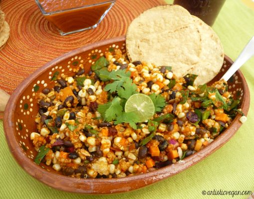 Artistic Vegan Quinoa Chile Lime.jpg
