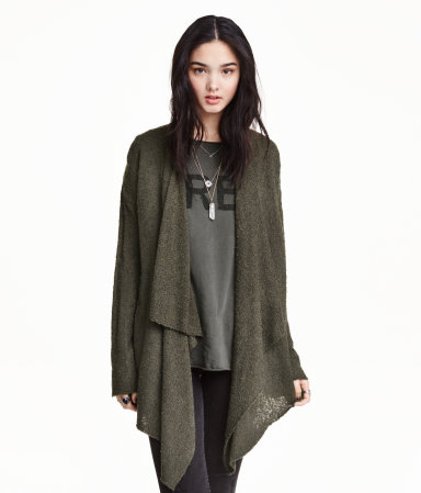 H&M | Draped Cardigan