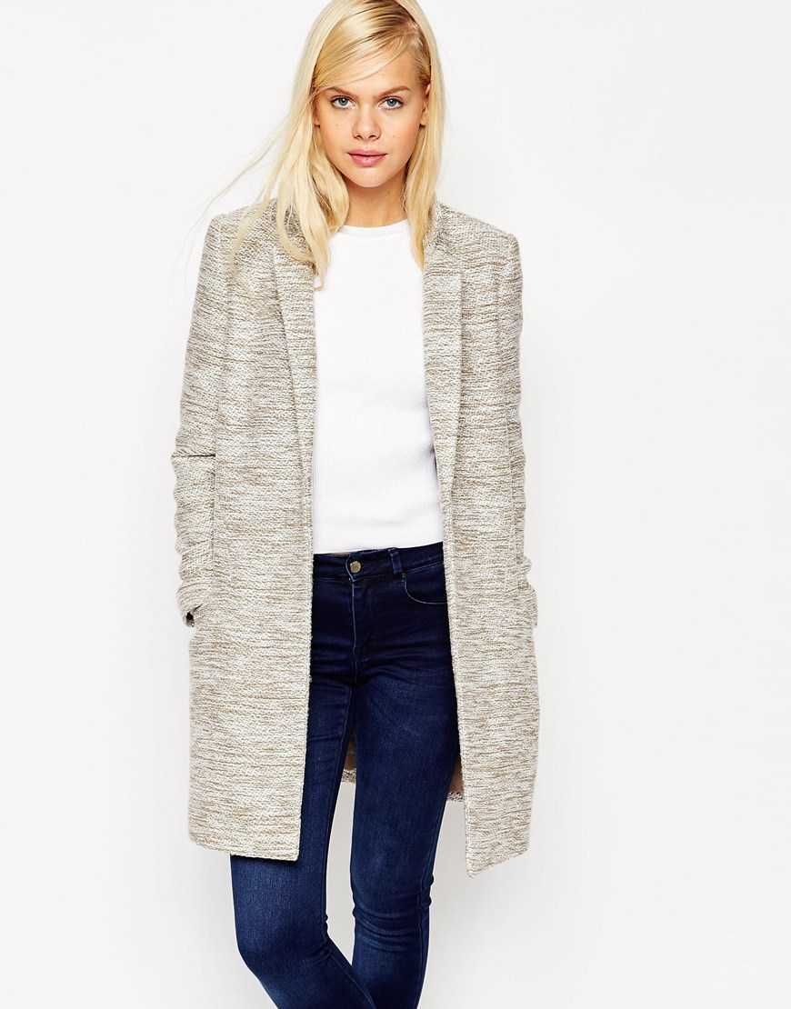 ASOS Coat in Slim Fit