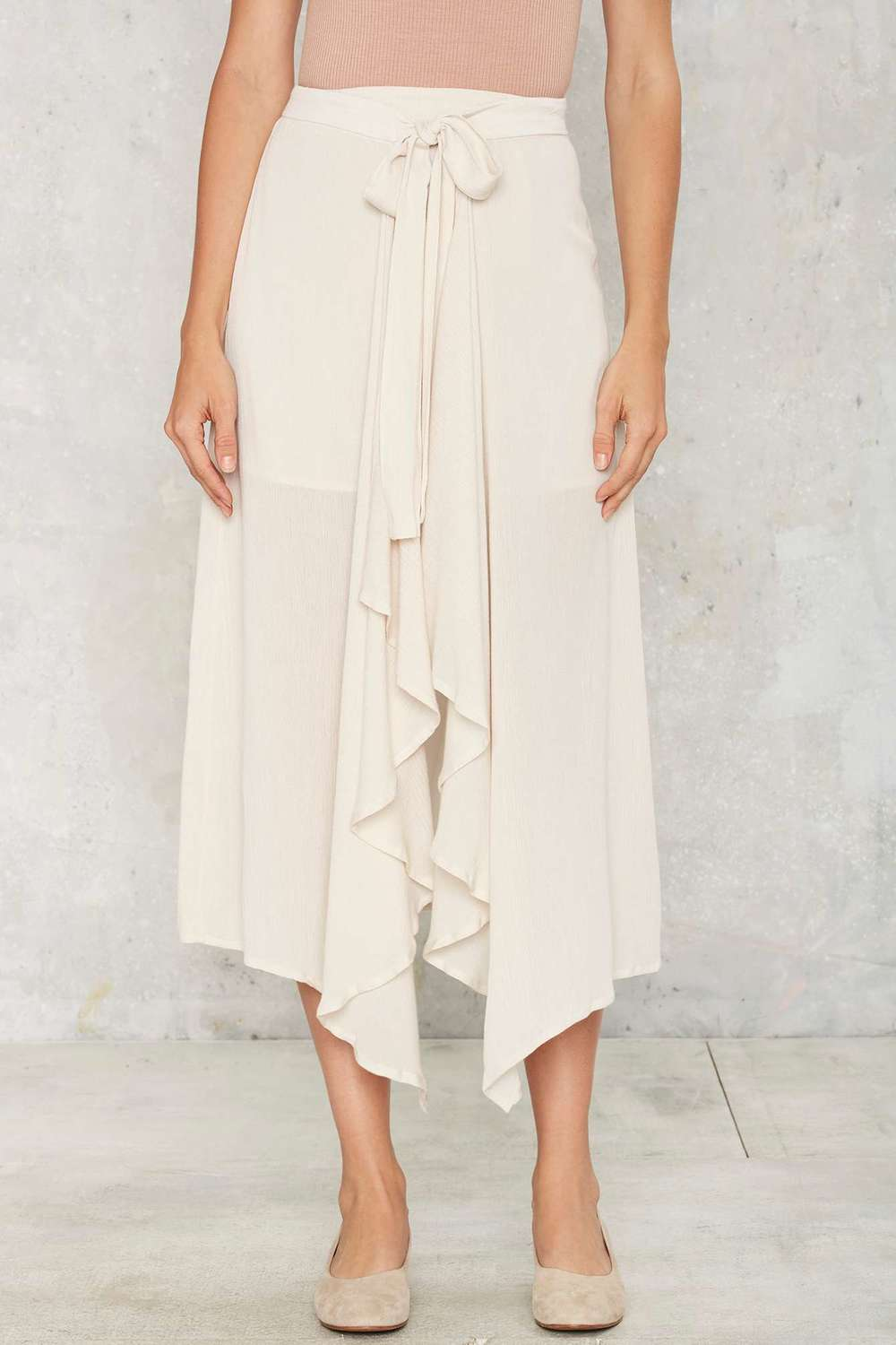 Nasty Gal Wrapped in Excellence Skirt