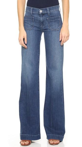 Hudson Jeans Libby Wide Leg Sailor Jeans