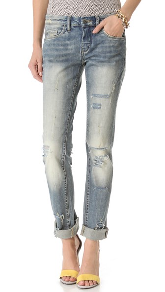 Blank Denim Relaxed Straight Leg Jean