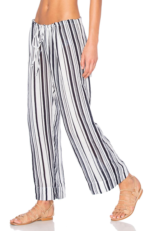 Omarina Vertical Stripe Pant by Graham & Spencer