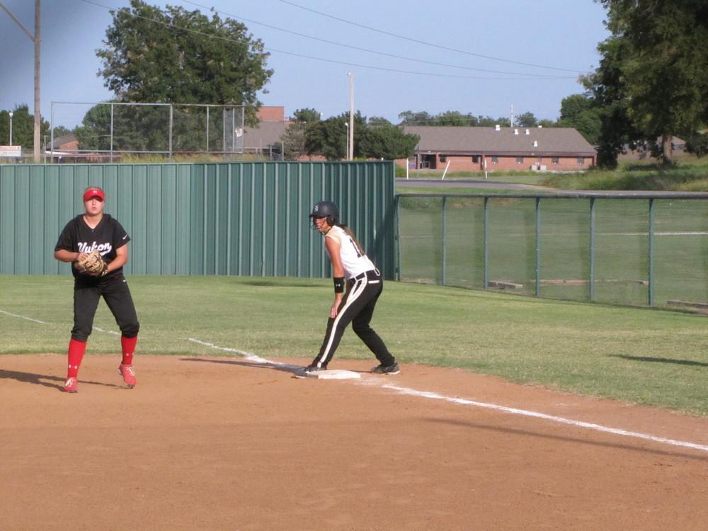 Pennington on first base