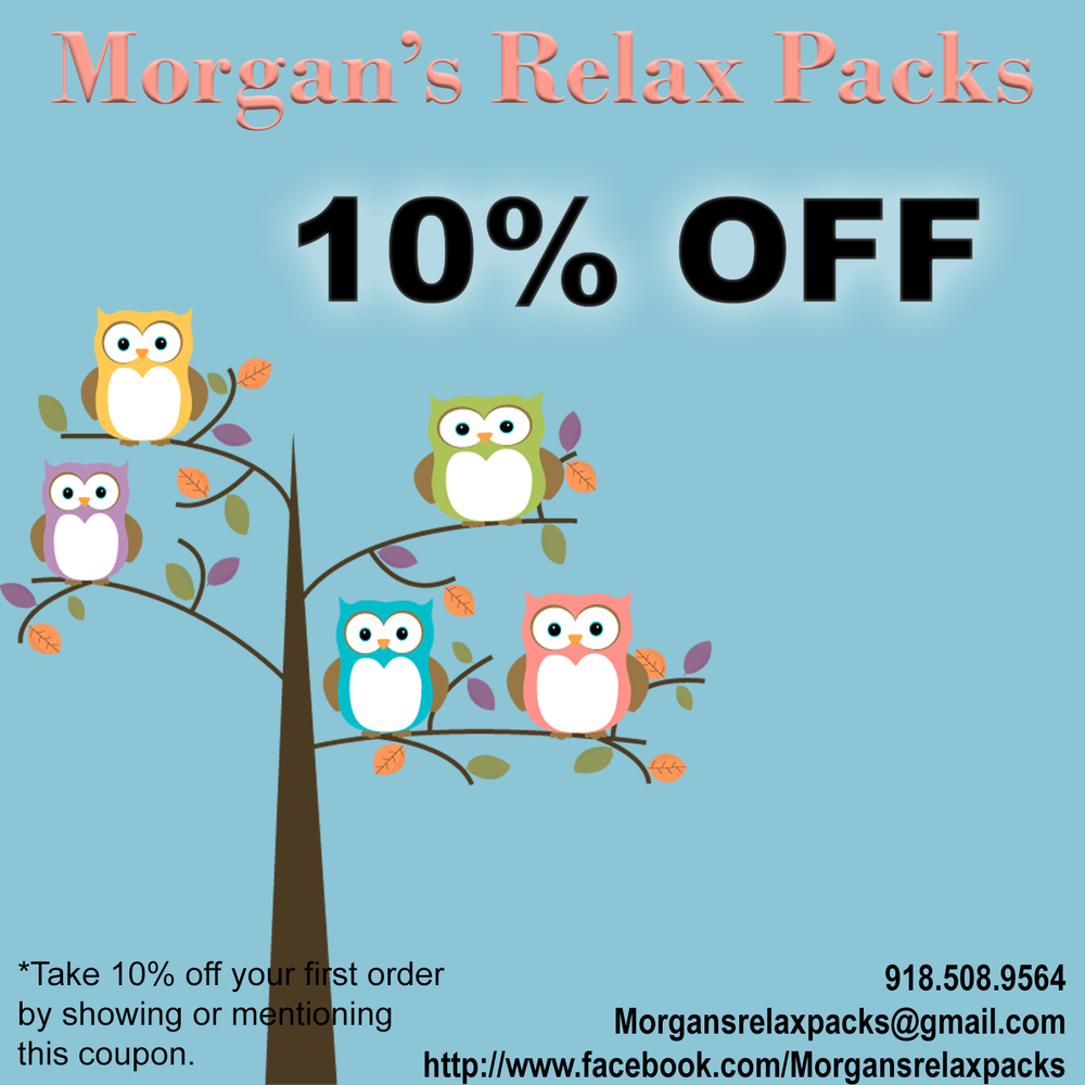 Morgan's Relax Packs are handcrafted customizable heat/cold packs designed for maximum relief at affordable pricing.