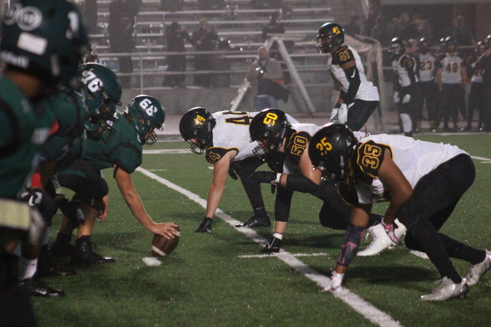 Stellar Sandite defense paves way for Sandite victory over No. 1 Muskogee. (Photo: Emigh)