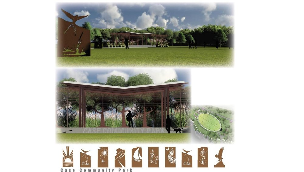 "Artist rendering of the ""Great Lawn"" and amphitheater. (Courtesy)"